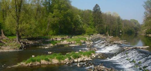Rieky a údolia