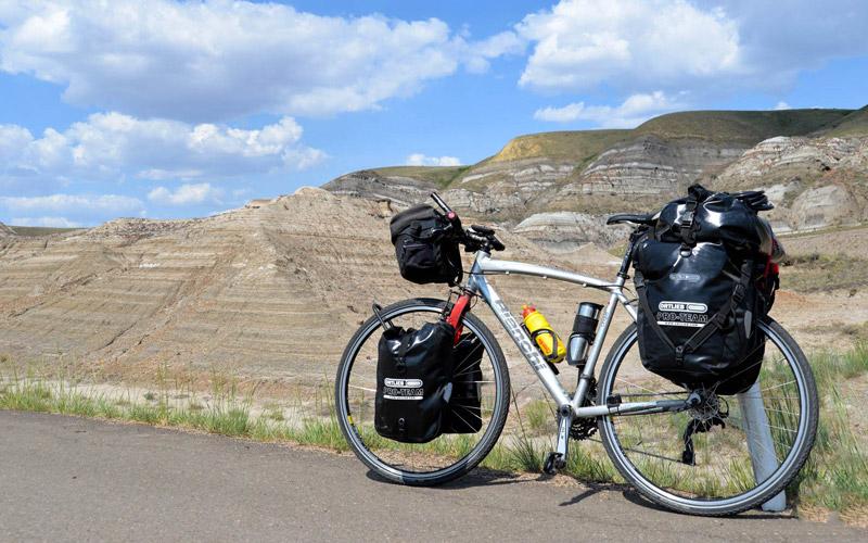 Bicykel s batožinou