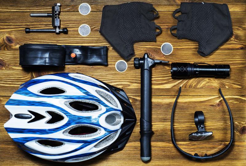 Základná výbava na cyklovýlet