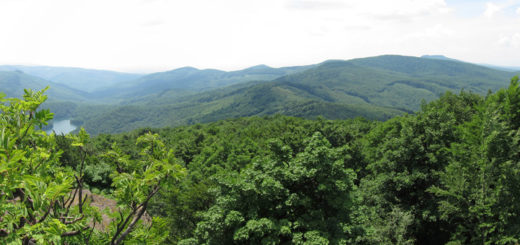 Výhľad zo Sninskej skaly