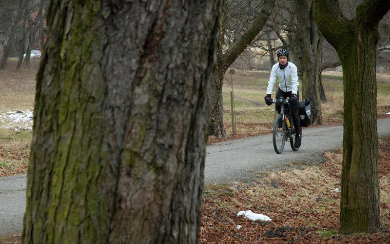 Zimné oblečenie na bicykel